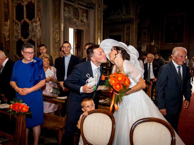Il matrimonio di Davide e Roberta a Fornovo San Giovanni, Bergamo 34