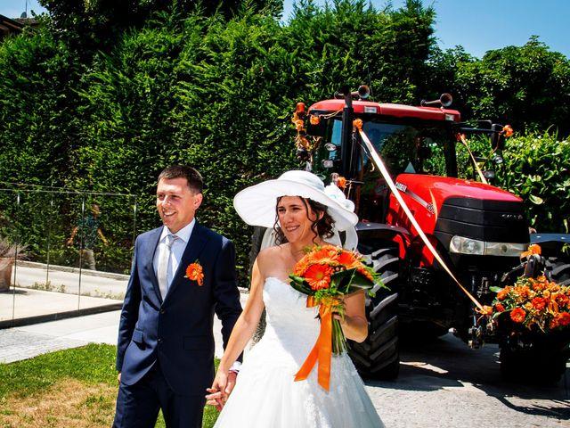 Il matrimonio di Davide e Roberta a Fornovo San Giovanni, Bergamo 48