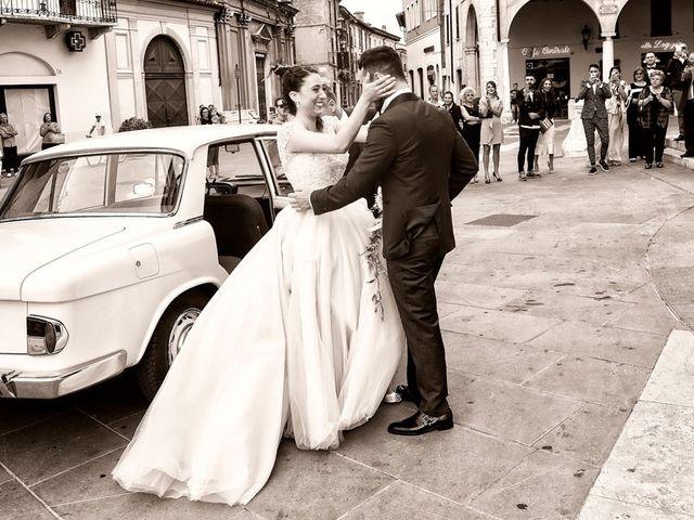 Il matrimonio di Emanuele e Elisa a Montichiari, Brescia 29