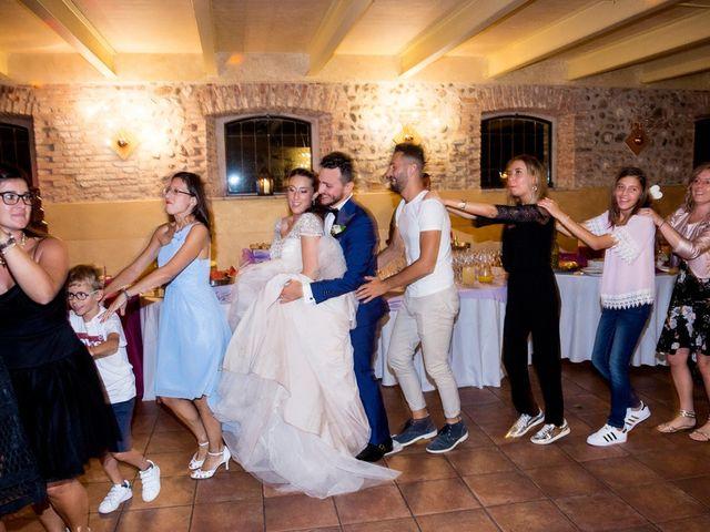 Il matrimonio di Emanuele e Elisa a Montichiari, Brescia 87