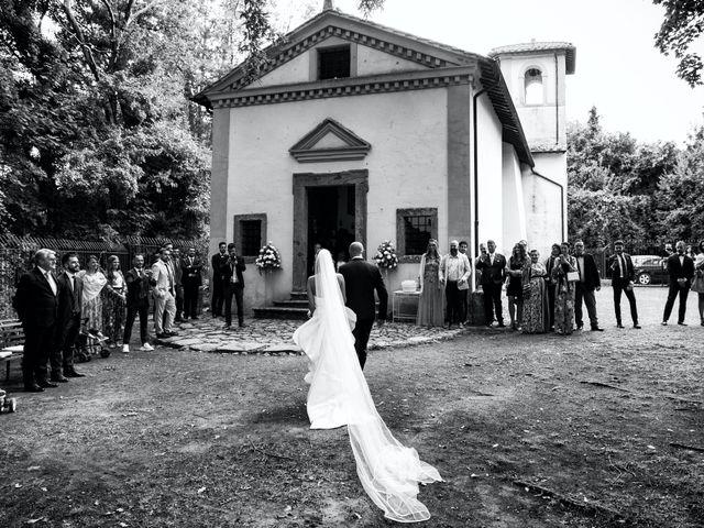 Il matrimonio di Giuseppe e Federica a Manziana, Roma 25