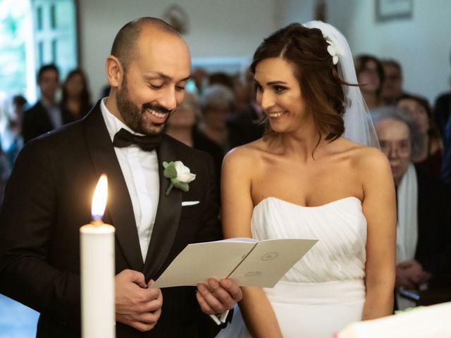 Il matrimonio di Giuseppe e Federica a Manziana, Roma 27