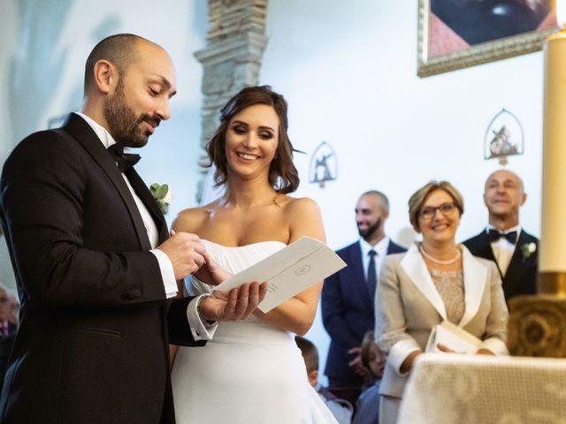 Il matrimonio di Giuseppe e Federica a Manziana, Roma 29