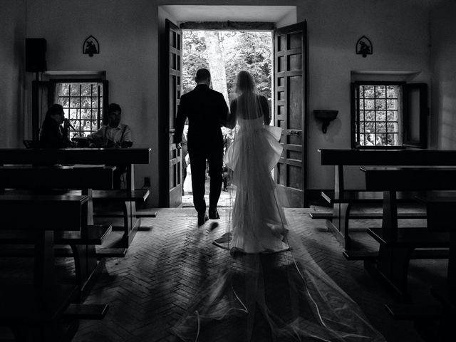 Il matrimonio di Giuseppe e Federica a Manziana, Roma 38