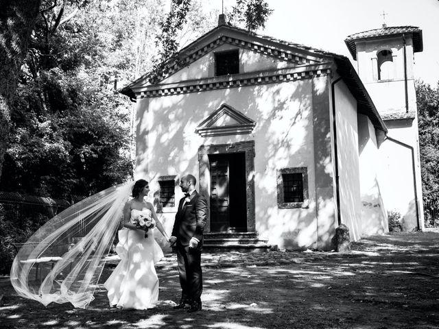 Il matrimonio di Giuseppe e Federica a Manziana, Roma 57