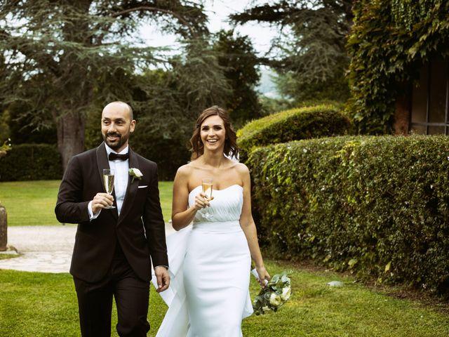 Il matrimonio di Giuseppe e Federica a Manziana, Roma 59