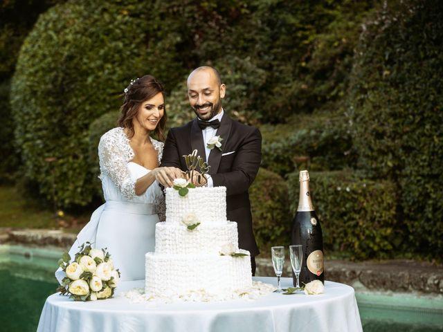 Il matrimonio di Giuseppe e Federica a Manziana, Roma 76