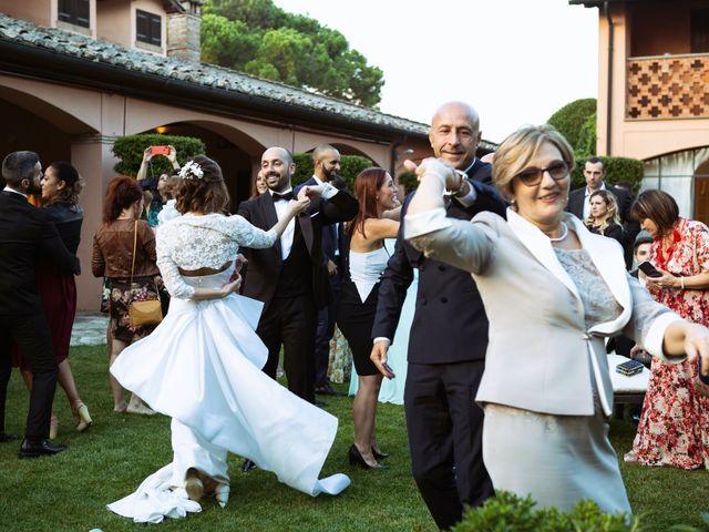 Il matrimonio di Giuseppe e Federica a Manziana, Roma 87