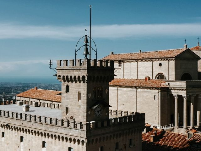 Il matrimonio di Eleonora e Gianluca a San Marino, San Marino 15