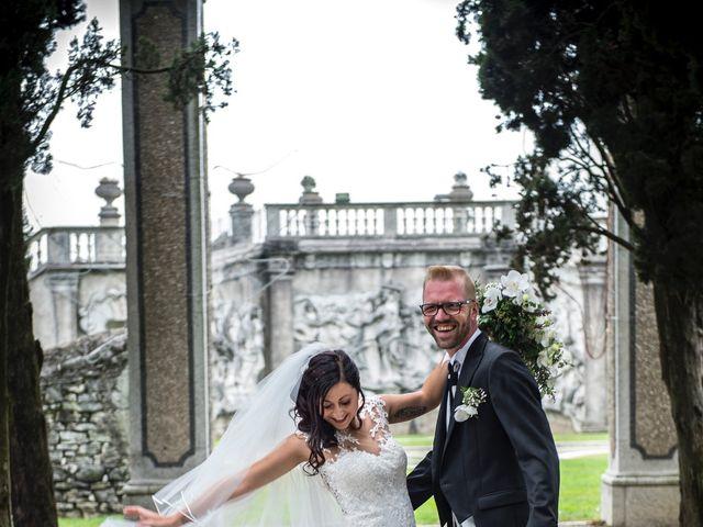 Il matrimonio di Domenico e Martina a Varese, Varese 14