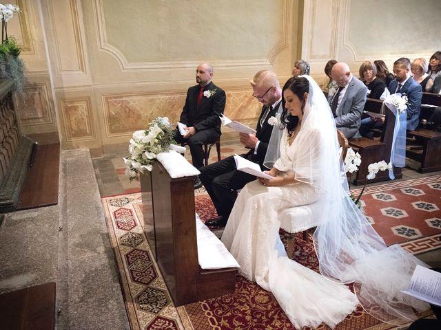 Il matrimonio di Domenico e Martina a Varese, Varese 25