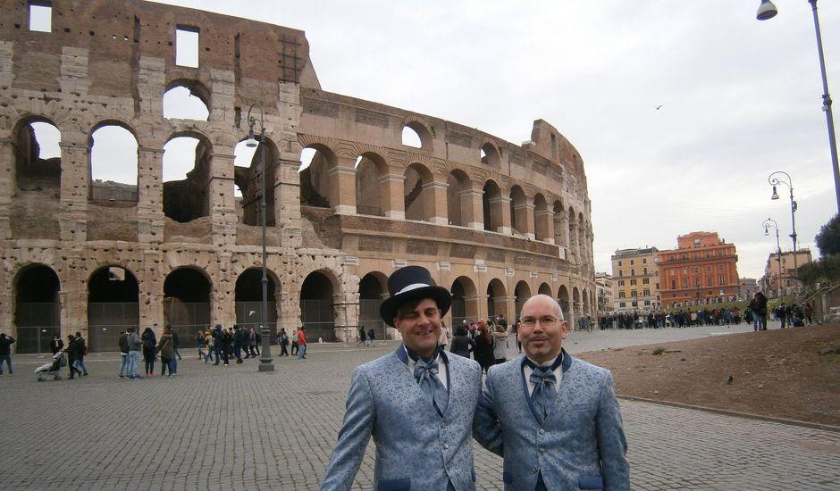 Il matrimonio di Manuel e Andrea a Roma, Roma