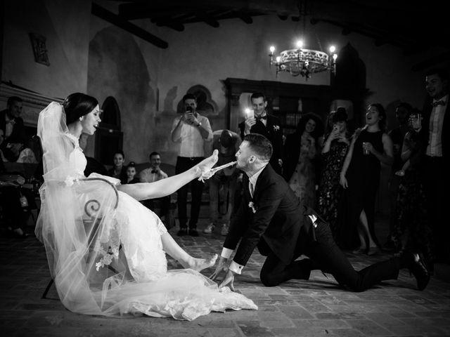 le nozze di Stefania e Mattia