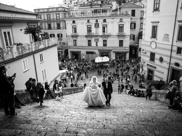 Il matrimonio di Alfredo e Carissa a Amalfi, Salerno 19