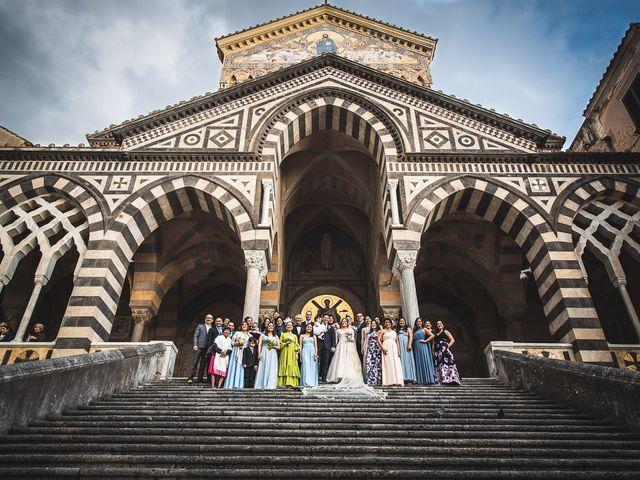 Il matrimonio di Alfredo e Carissa a Amalfi, Salerno 39