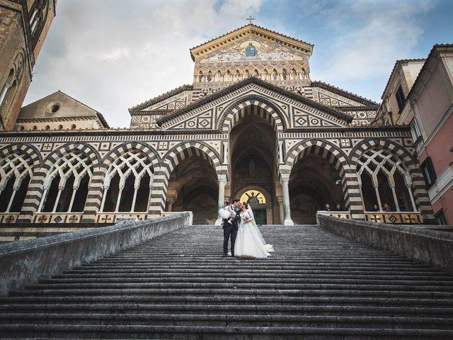 Il matrimonio di Alfredo e Carissa a Amalfi, Salerno 41
