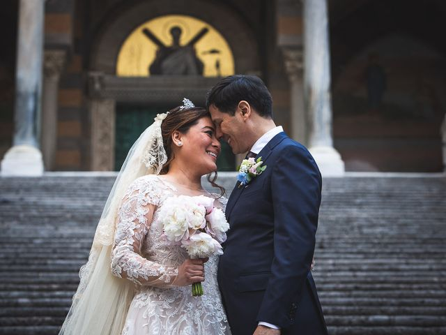 Il matrimonio di Alfredo e Carissa a Amalfi, Salerno 43