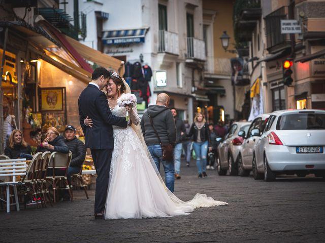 Il matrimonio di Alfredo e Carissa a Amalfi, Salerno 45