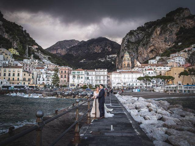 Il matrimonio di Alfredo e Carissa a Amalfi, Salerno 49