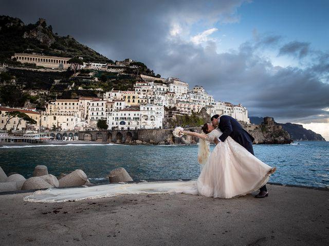 Il matrimonio di Alfredo e Carissa a Amalfi, Salerno 50