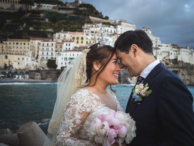 Il matrimonio di Alfredo e Carissa a Amalfi, Salerno 51
