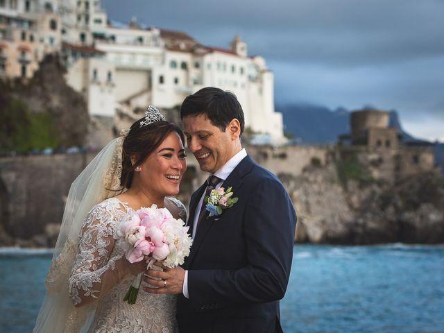 Il matrimonio di Alfredo e Carissa a Amalfi, Salerno 52