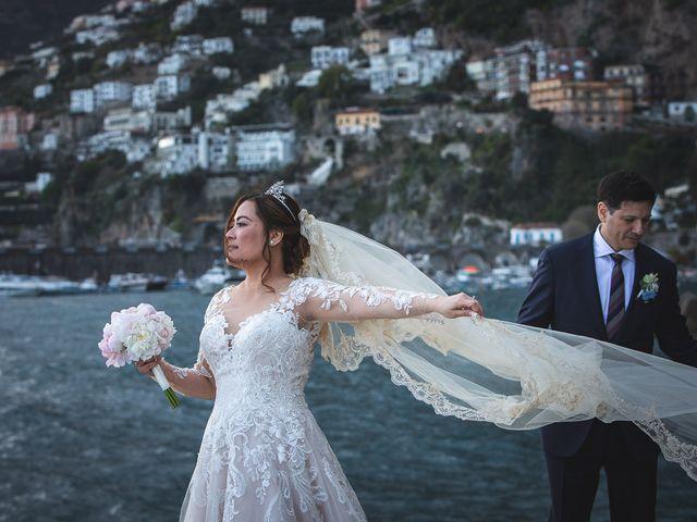 Il matrimonio di Alfredo e Carissa a Amalfi, Salerno 53