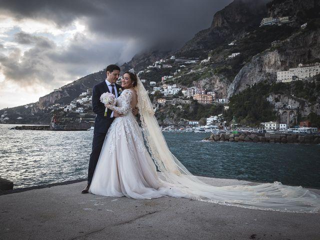 Il matrimonio di Alfredo e Carissa a Amalfi, Salerno 54