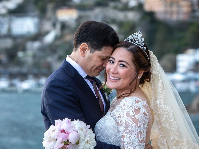 Il matrimonio di Alfredo e Carissa a Amalfi, Salerno 56