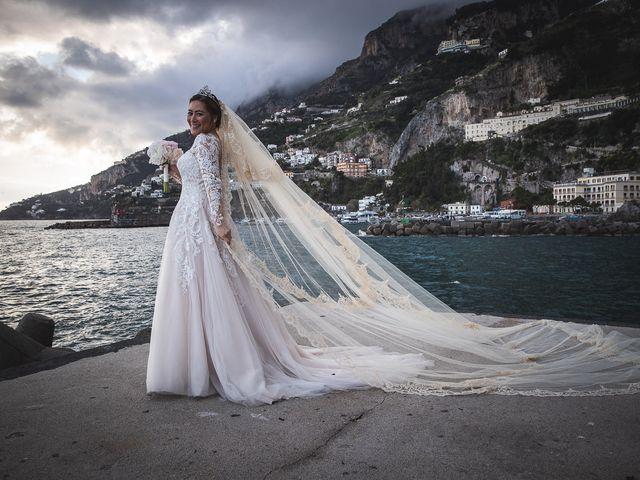Il matrimonio di Alfredo e Carissa a Amalfi, Salerno 59