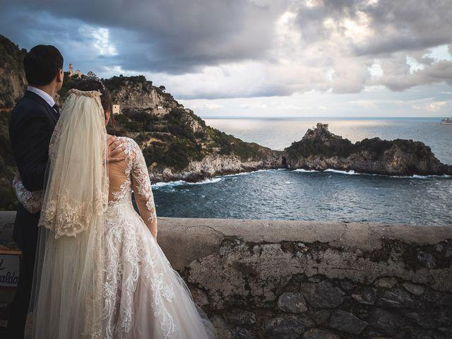 Il matrimonio di Alfredo e Carissa a Amalfi, Salerno 64