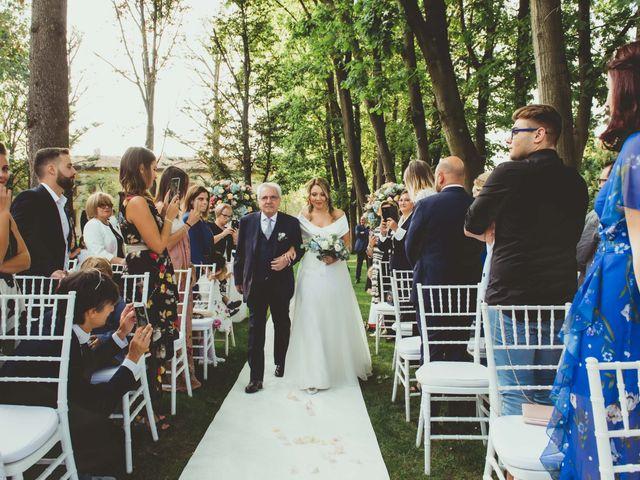 Il matrimonio di Jonathan e Lucia a Robecco sul Naviglio, Milano 20