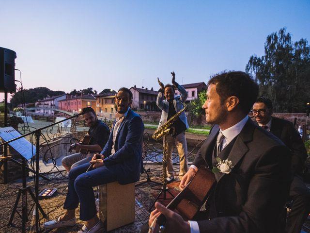 Il matrimonio di Jonathan e Lucia a Robecco sul Naviglio, Milano 34