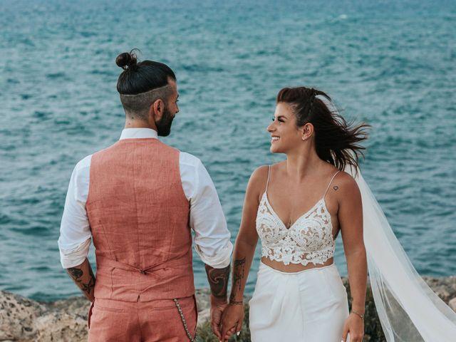 Il matrimonio di Francesco e Elena a Gallipoli, Lecce 79