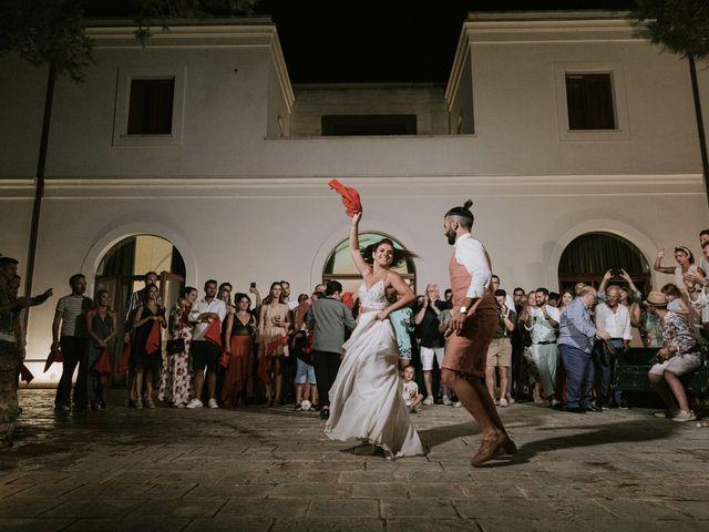 Il matrimonio di Francesco e Elena a Gallipoli, Lecce 95