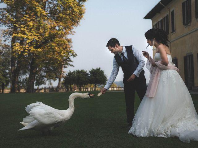 Il matrimonio di Alberto e Virginia a Imbersago, Lecco 95