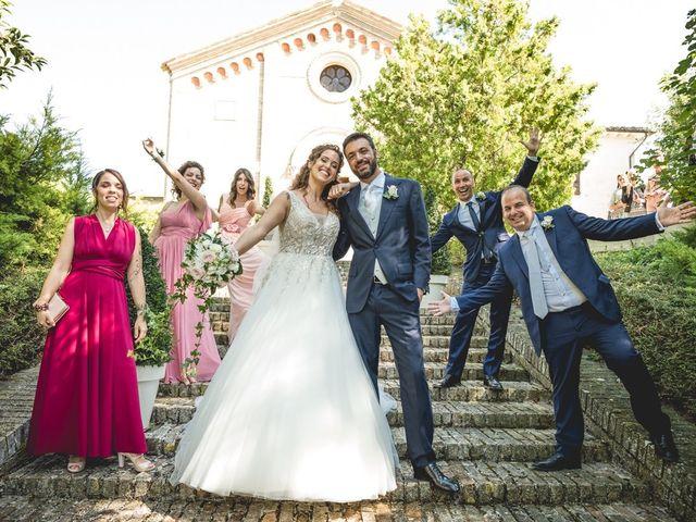 Il matrimonio di Mirco e Alice a Treia, Macerata 43