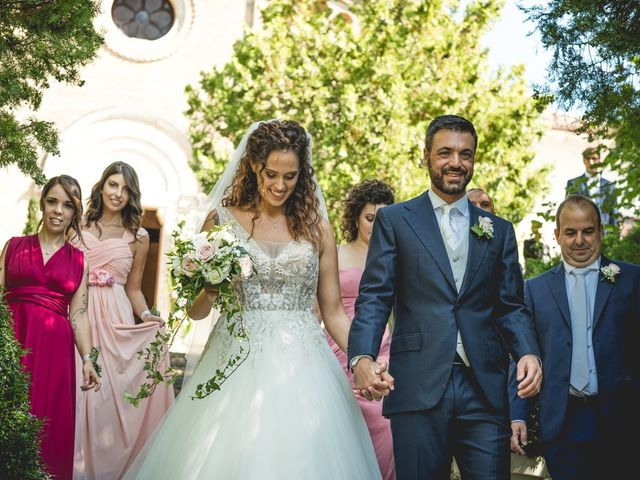 Il matrimonio di Mirco e Alice a Treia, Macerata 44