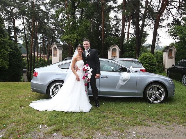 Il matrimonio di Daniel e Samuela a Somma Lombardo, Varese 16