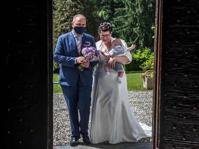 Il matrimonio di Fabio e Stefania a Castiglione Olona, Varese 25