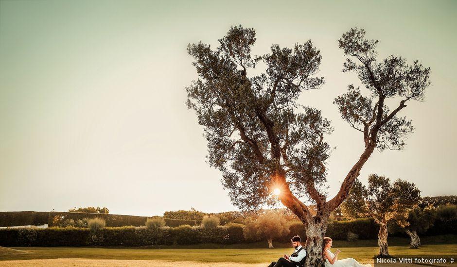 Il matrimonio di Nicola e Monica a Mesagne, Brindisi