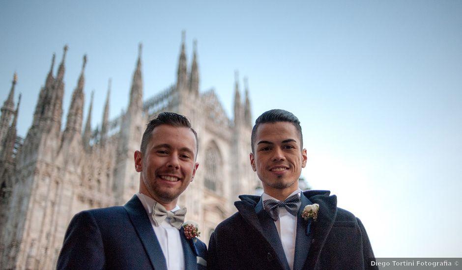 Il matrimonio di Nicola e Alan a Milano, Milano