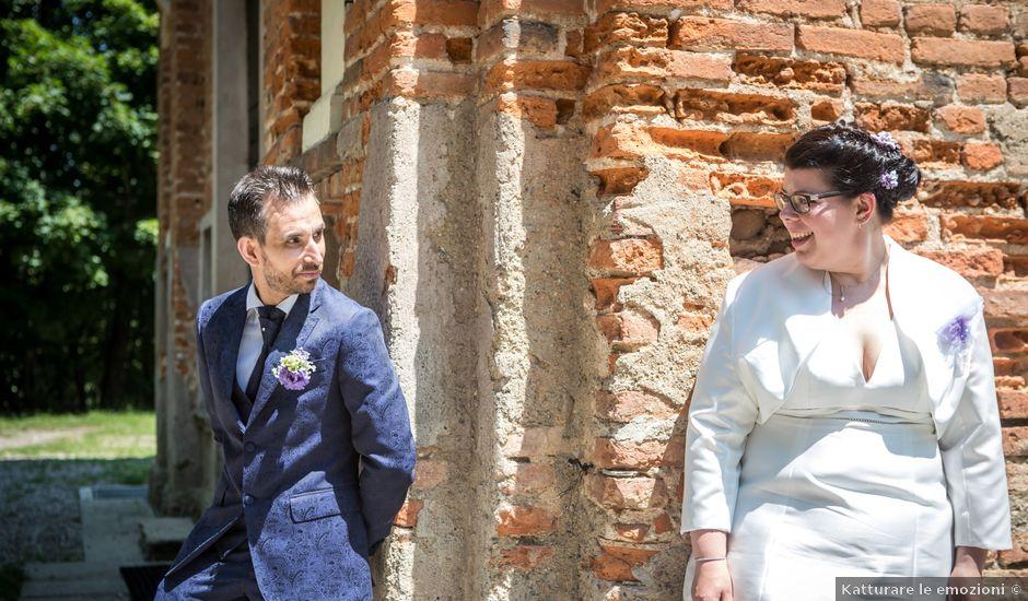 Il matrimonio di Fabio e Stefania a Castiglione Olona, Varese