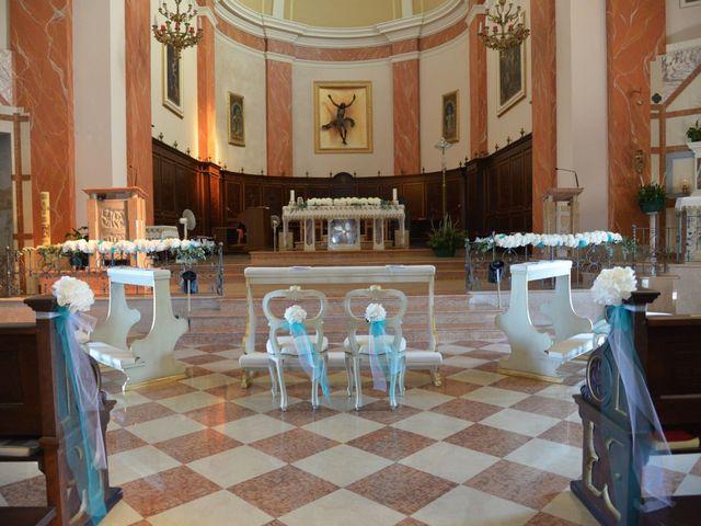 Il matrimonio di DAVIDE e SIMONA a Montichiari, Brescia 7