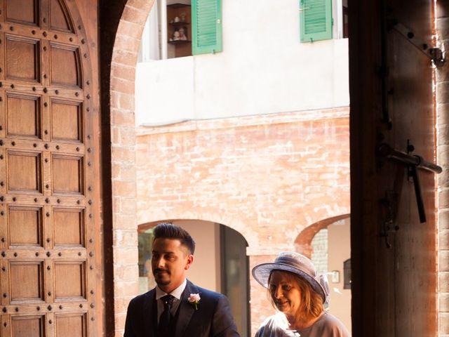 Il matrimonio di Marco e Barbara a Fontanellato, Parma 16