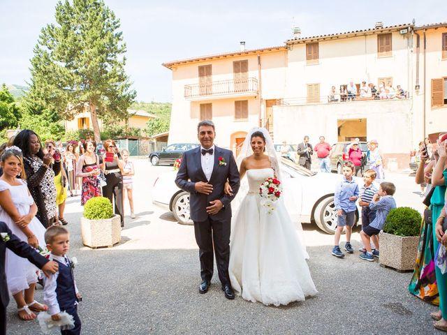 Il matrimonio di MANUEL e MARTINA a Norcia, Perugia 26