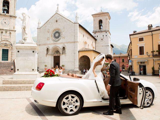 Il matrimonio di MANUEL e MARTINA a Norcia, Perugia 44