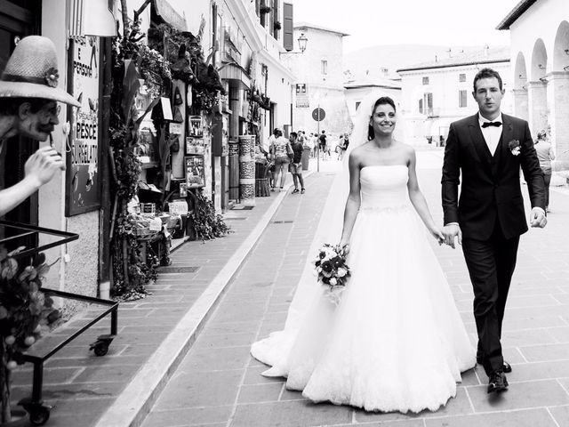 Il matrimonio di MANUEL e MARTINA a Norcia, Perugia 45