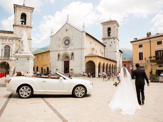 Il matrimonio di MANUEL e MARTINA a Norcia, Perugia 56