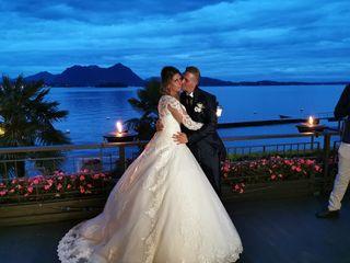 Le nozze di Brigitte  e Alessandro